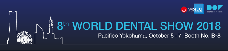 World Dental Show 2018 in Yokohama, Japan