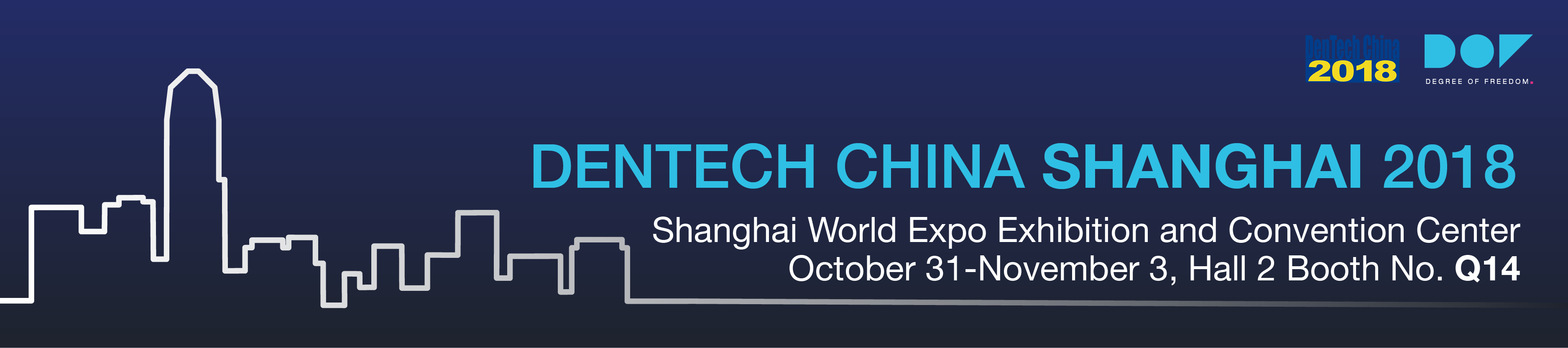 DenTech China 2018 in Shanghai, China